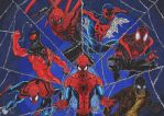 Spiderman Alternatives webs (Colors) by GabRed-Hat