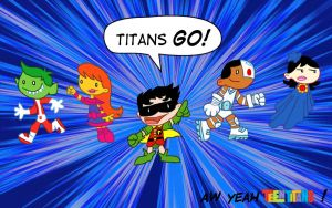 Tiny Titans Go by FelynxTiger