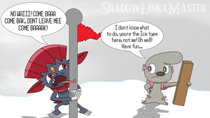 Weavile's Bad Day by MrNerdling