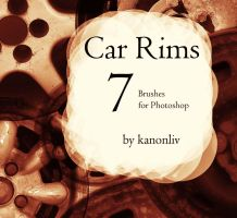 Car Rim Brushes by kanonliv