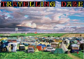 Travelling Daze book cover by NewAgeTraveller