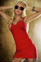 Red Dress by lensworksphotography