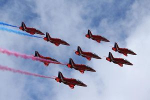 Red Arrows by Cantabrigian