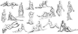 female body study by Brunstan