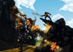 Infamous Second Son FANART by MeoMoc