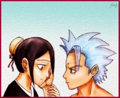 Hitsugaya and Hinamori Request by AizenSousuke