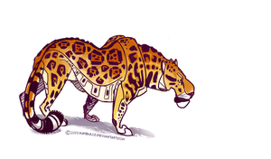 Panthera onca by ZhBU