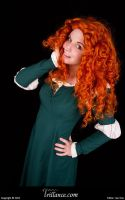 Merida of Clan DunBroch by EvieE-Cosplay