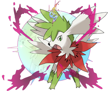 Mega Shaymin (Sky Forme) by CoolShallow