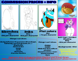 COMMISSION INFORMATION CHART (READ DESCRIPTION!!) by dantiscus