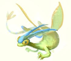 Shiny Flygon by Siplick