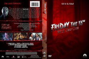 Friday the 13th Pt. 6 Custom DVD Cover by SUPERMAN3D