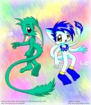 Ekor + Shippo by MarwanGreenCritter