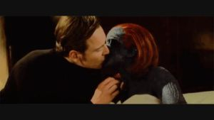Mystique Magneto Kiss by ArriveAliv3