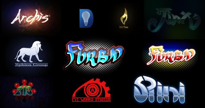 Logo Set 2 by KirbBrimstone