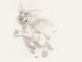 I can fly by Hesstoons