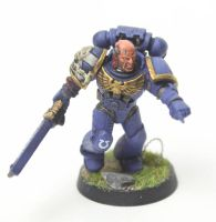 Ultramarines Alpha Company Tactical Marine Sgt by jstncloud