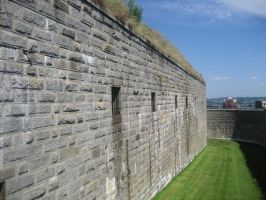 Fortified Wall In Nova Scotia by aubzilla