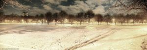 Meadows Winter Panorama Edit by gdphotography