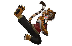 Master Tigress by darkkeferas