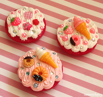 sweets deco mirrors by SamanthaJoy