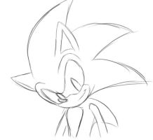 Sonic Rough Animation by Kyunae