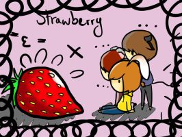Le Strawberry by kittykat91096
