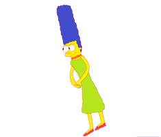 Marge Simpson by kitty55501