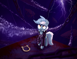 Background Pony - Lyra in the Unsung Realm by Shovrike