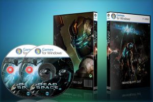 Dead Space 2 Custom DVD Cover by Diego9000