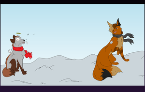 Merry Christmas Anime by dragonrider292