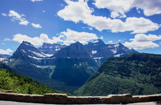 Glacier National Park: from going to the sun road by BirdsInFlight