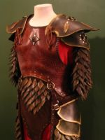 Elven Swordsinger Leather Armor by Flacusetarhadel