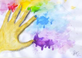 The Hand of an Artist by SophieAnna97