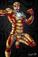 Iron Man by stayte-of-the-art