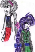 Ellen and Viola-different but no so much? by YuiHarunaShinozaki