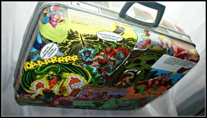 Upcycled He-man Suitcase by SecondHandCaravan
