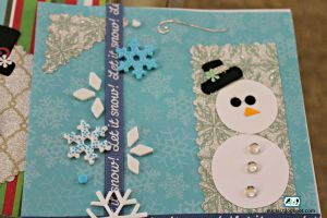 Snowman Christmas Card 3 by SugiAi