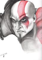 Kratos by screamingsnake