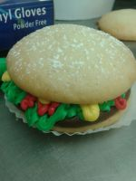Hamberger Whoopie Pie by Kyoga