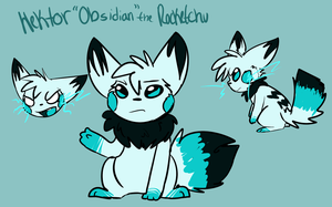 Hektor Obsidan the Rocketchu ref by lonely-galaxies