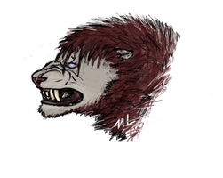 Snarly Rabmag portrait (Hi everybody!) by TheScreepy