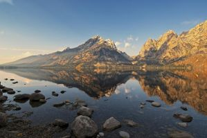 Jenny Lake by thankyoujames