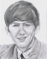 The Beatles - George Harrison by Richard-M-Williams