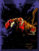 Hellboy by Rene by SplashColors