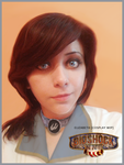 Elizabeth BioShock Infinite cosplay WIP by Vicky-Redfield