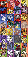 DC First Opening Icons Batch by Pannzilla