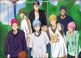 [Kuroko no Basuke 275] Smiles That Will Never Fade by KurokawaTami