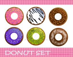 Donut set by Reddari