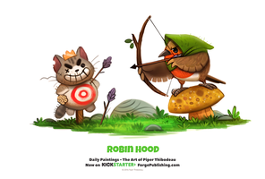 Daily 1337. Robin Hood by Cryptid-Creations